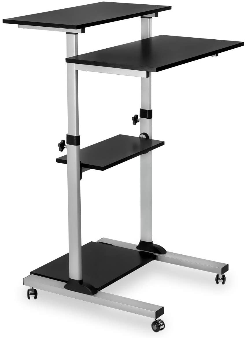 Mount-it! mobile stand up desk