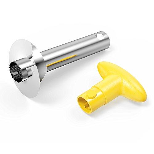 Sametech easy kitchen tool stainless steel fruit pineapple peeler